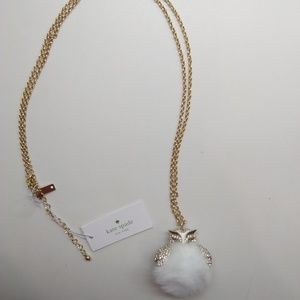 Kate Spade New Fluffy Owl Pendant Necklace